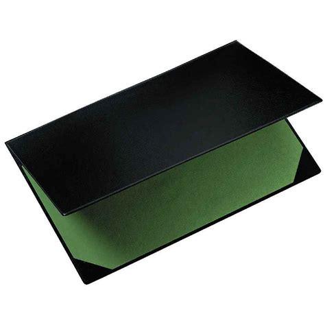 sous mains bureau sous plastique 40x60 noir exacompta vente