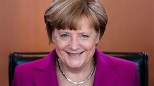 German Chancellor Angela Merkel attacks fake news as she ...