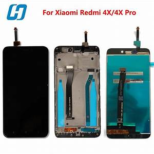 Hacrin For Xiaomi Redmi 4x Lcd Display Touch Screen 100
