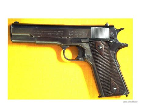 Colt 1911 Ww1 Commercial .45 5