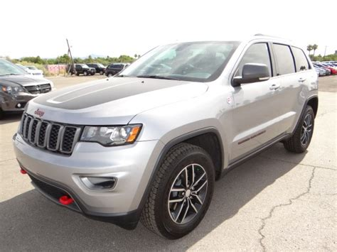 jeep grand cherokee trailhawk silver 2017 jeep grand cherokee trailhawk for sale stock j7013