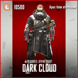 dark cloud legendary caustic apex legends skin