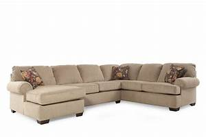 Lane vivian barely sectional mathis brothers furniture for Sectional sofa mathis brothers