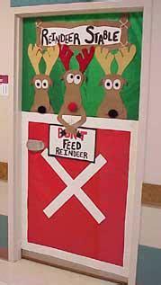 quot don t feed the reindeer quot christmas classroom door