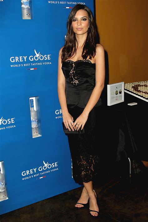Emily Ratajkowski - Grammys Ultimate VIP presented by Grey ...