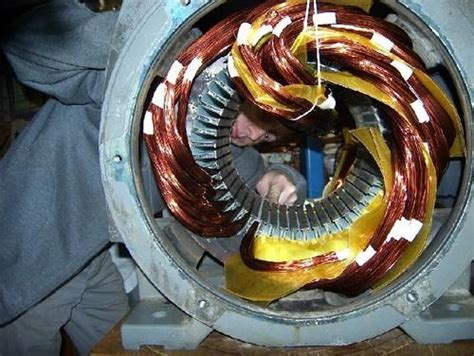 Electric Motor Winding by Ambika Electric Works Service Provider Of Ht Motor