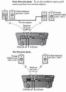 Telephone Line Connection Diagram