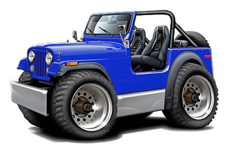 cartoon jeep wrangler jeep cj wrangler 4x4 muscle car art cartoon tshirt new ebay