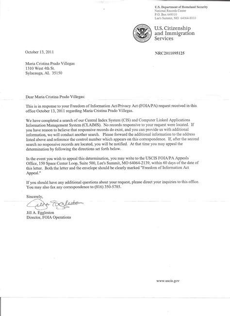 sample cover letter  immigration officer job