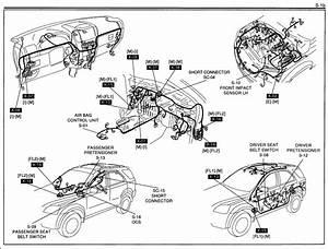 Kia Sorrento Drivers Seat Pretensioner Open Circuit