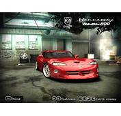 Need For Speed Most Wanted Cars By Dodge  NFSCars