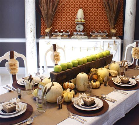 dinner table decoration ideas 5 harvest themed thanksgiving tables