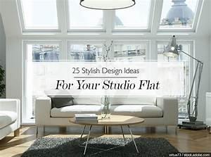 25, Stylish, Design, Ideas, For, Your, Studio, Flat