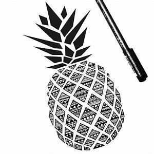 Best 25+ Pineapple zentangle ideas on Pinterest ...
