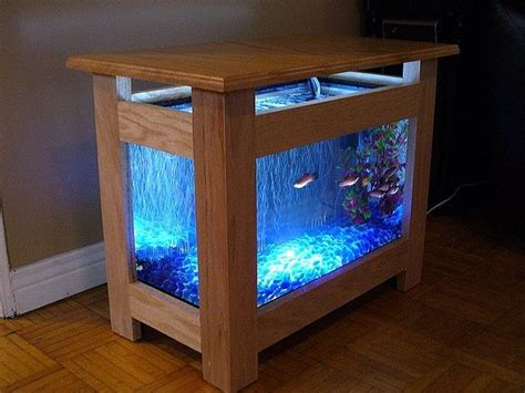 wooden fish tank coffee table table designs plans
