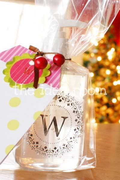 monogrammed soap teacher gift