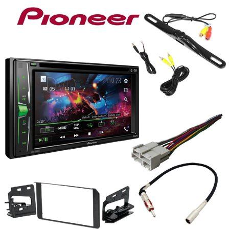 pioneer avh 200ex 2 din 6 2 quot dvd cd iphone android bluetooth metra din stereo