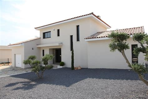 construction de maison contemporaine herault mas occitan