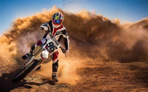 Motocross Racing Hintergrundbilder