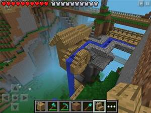 W2 Small Cliff Mill Minecraft Pe My Minecraft
