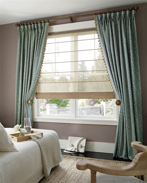 Bedroom Window Treatment Ideas Bedroom Contemporary With