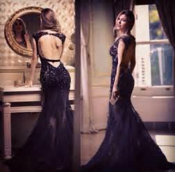 black lace dress open back me pinterest black