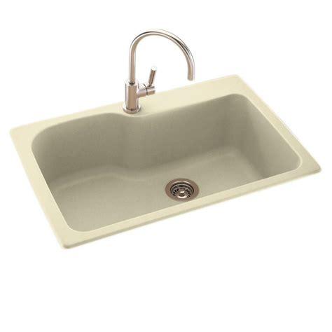 33 undermount kitchen sink swan drop in undermount composite 33 in 1 hole single
