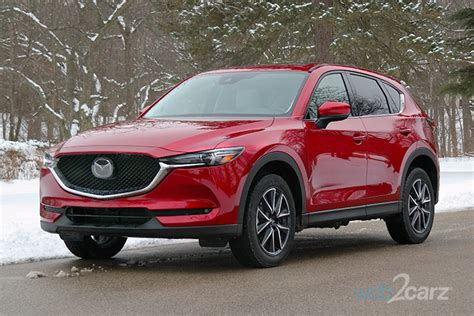 2018 Mazda Cx5 Grand Touring Review Web2carz