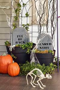 20, Fun, And, Spooky, Halloween, Porch, Decorating, Ideas