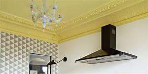 peindre un plafond en couleur toutes nos inspirations With attractive quelle couleur avec le gris 4 nos astuces en photos pour peindre une piace en deux couleurs