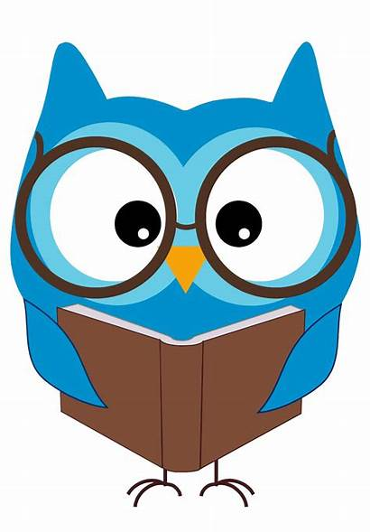 Owl Reading Clipart Clip Clipartion