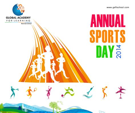 Sports Day Poster Template by Gaflschool Sports Day Poster Design On Behance