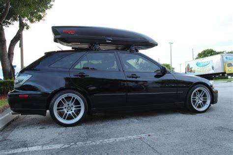 lexus hatchback modded fs ft lexus sportcross hatchback wagon is300 black and