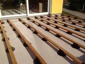 comment poser une terrasse en bois composite 2 terrasse With comment poser une terrasse bois