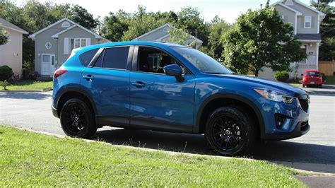 Mazda Cx-5 Custom Wheels Styluz 18x8.5, Et , Tire Size 235