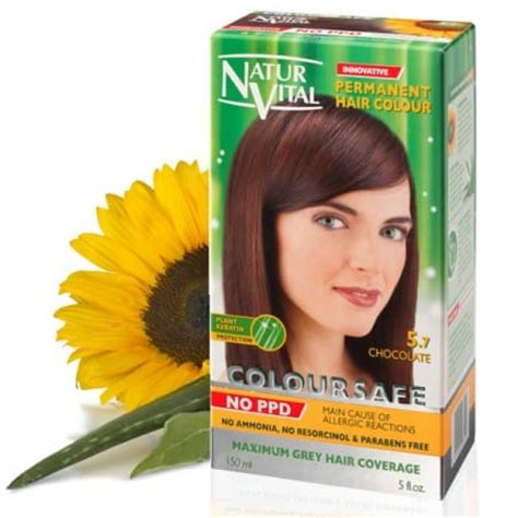 hair color without ppd ppd free hair dye naturvital coloursafe black no 1 no
