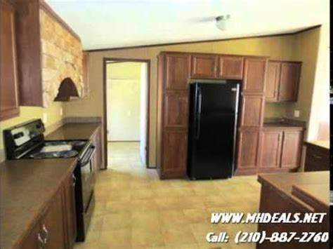 fleetwood eagle manufactured double wide home austin texas youtube