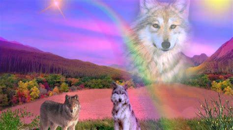 Anime Rainbow Wolf Wallpaper by Rainbow Wolf Hd Desktop Wallpaper Widescreen High