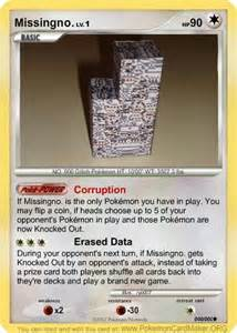 Missingno Pokemon Card