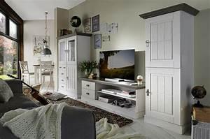 Wohnwand Weiß Holz : wohnzimmerschrank 66x164x48cm 2 holzt ren kiefer massiv ~ A.2002-acura-tl-radio.info Haus und Dekorationen