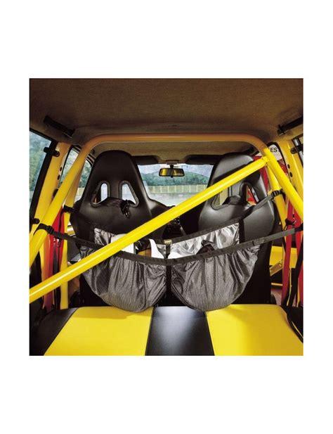protection siege auto bébé filet porte casques omp