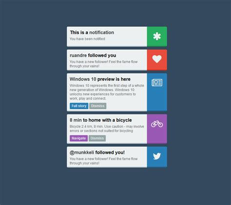 Css Notification Styles  Coding Fribly