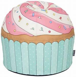 Sacco A Forma Di Cupcake Gigante