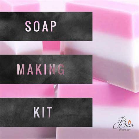 beginners melt pour soap making kit deluxe