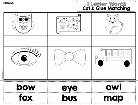 3 letter words puzzles worksheets activities and math 101 | e0b2fffd92eec57f82da613dc7b6db1d