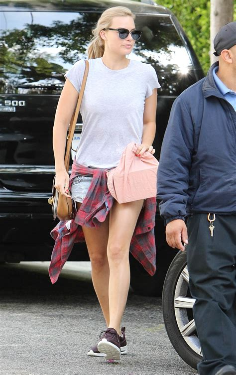 Margot Robbie Out Los Angeles October