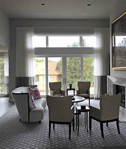 This, Stunning, Great, Room, Features, Unlined, Linen, Sheers, In, Ripplefold, Style, With, A, Contrast, Bo