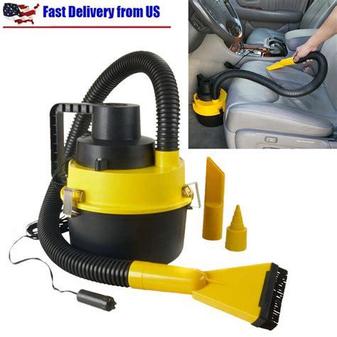 car vaccums 12v vac vacuum cleaner inflator portable turbo