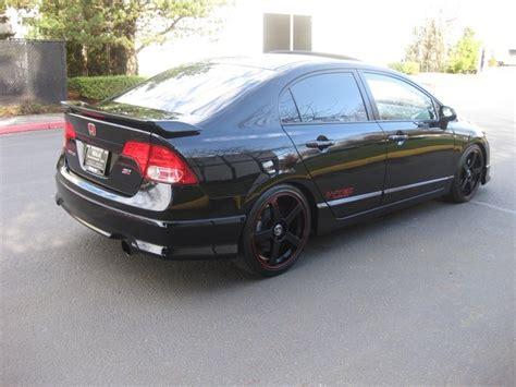 si鑒e auto sport black 2008 honda civic si 6 speed all custom sport kit rims 1 owner