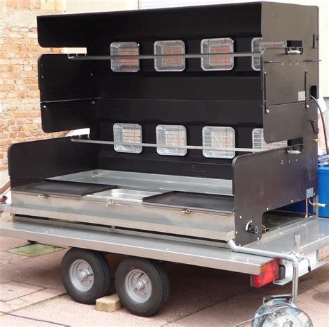 tourne broche barbecue gaz vente location tourne broche barbecue et m 233 choui mobi grill